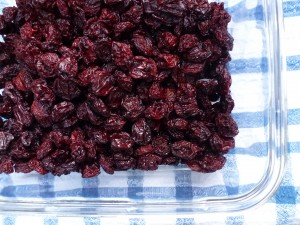 Dried sour cherries