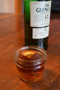 A hot toddy make with The Glenlivet