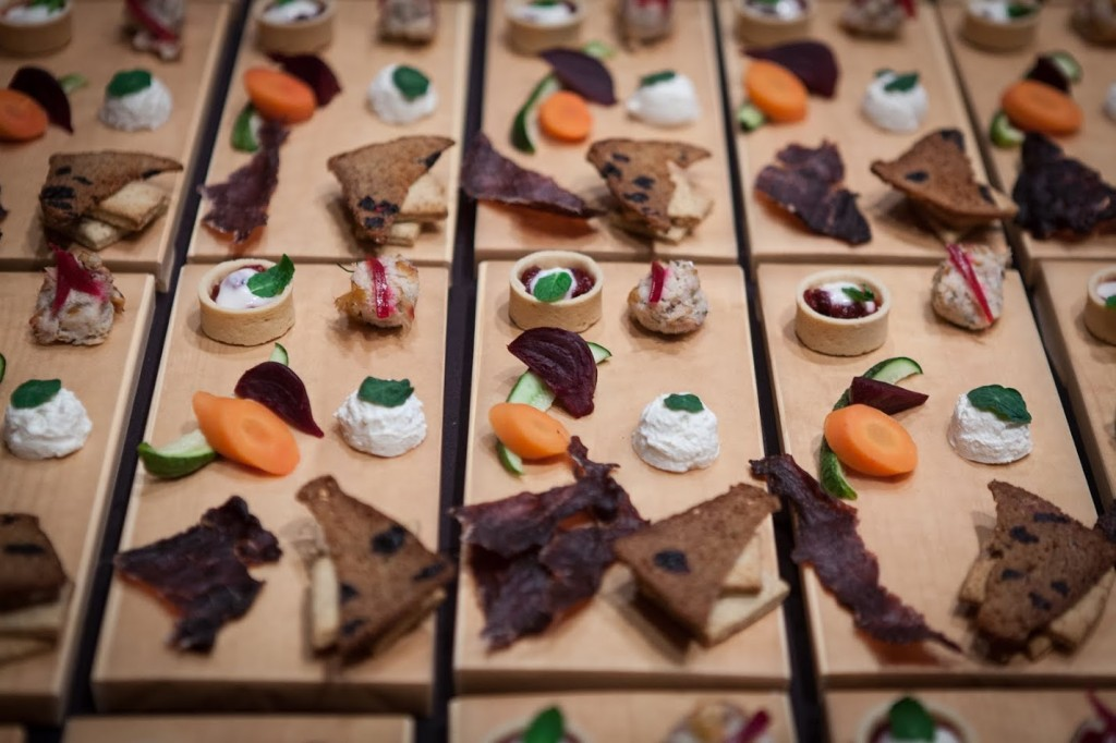 Tasting boards from Eat Alberta 2014