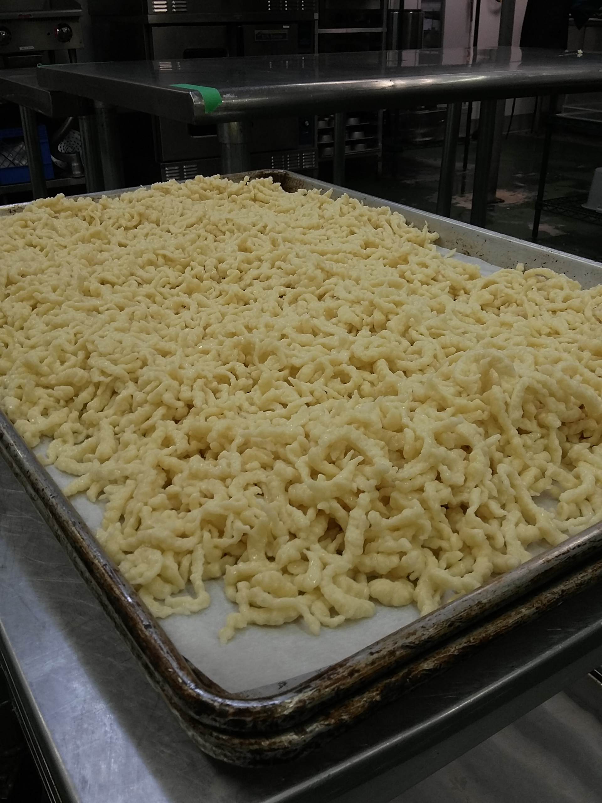 All the spätzle.