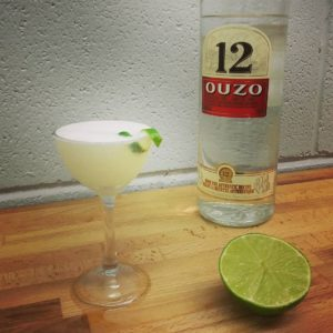 An icy-cold Dryos sour.