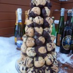 """Chocembouche,"" a chocolate croquembouche"